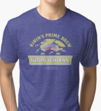 Kirin Beer Tri-blend T-Shirt