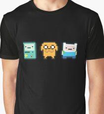 8-bit Jake Finn & Beemo Graphic T-Shirt