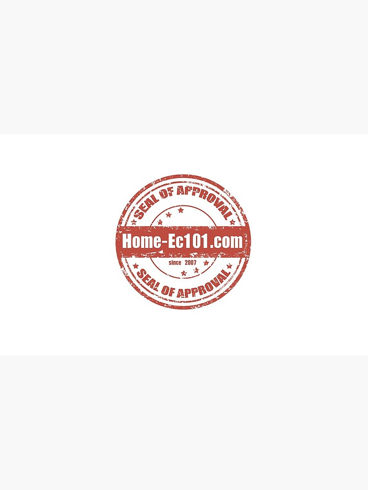Home-Ec101.com Seal of Approval by HeatherSolos