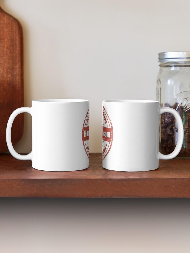 Alternate view of Home-Ec101.com Seal of Approval Mug