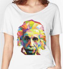 Camiseta ancha para mujer Einstein Technicolor