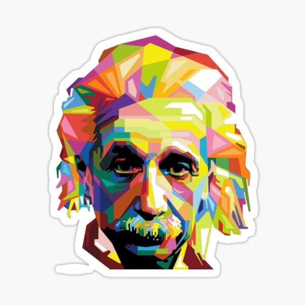 Einstein Technicolor Pegatina