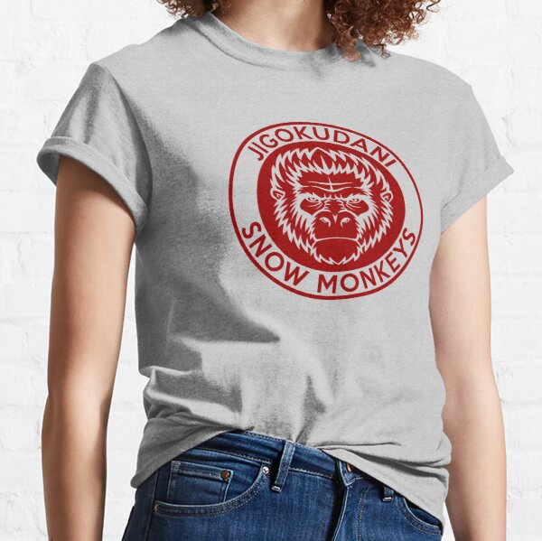Jigokudani Japan Snow Monkeys Classic T-Shirt