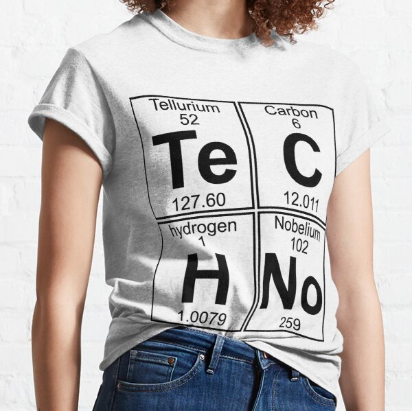 Techno Bag? Techno tout! T-shirt classique