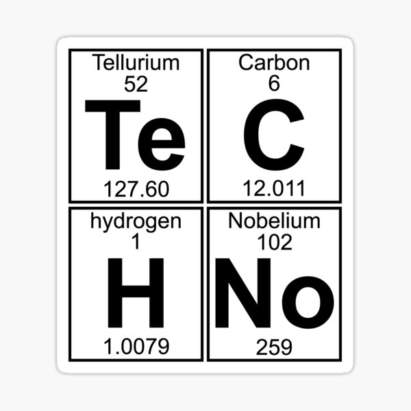 Techno Bag? Techno tout! Sticker