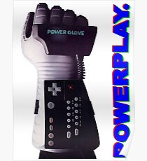 NES Power Glove - POWERPLAY Poster