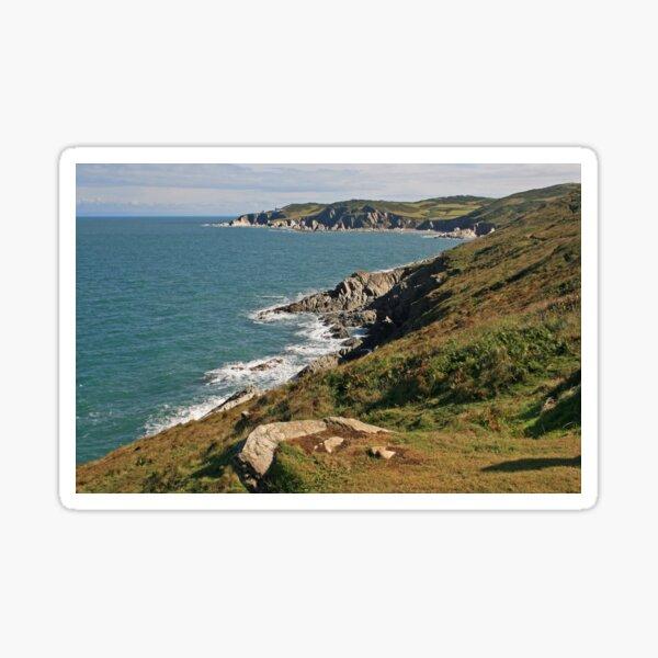 Rockham Bay & Bull Point, North Devon Sticker