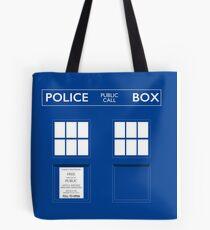 Dr. Who's Tardis Tote Bag