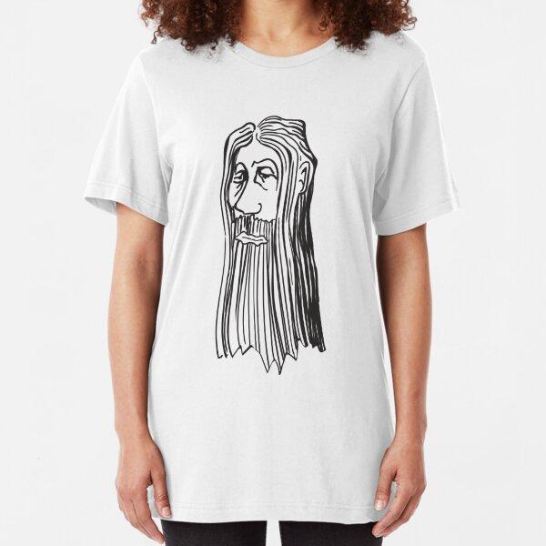 Weirdman Beaardman No 4 Slim Fit T-Shirt