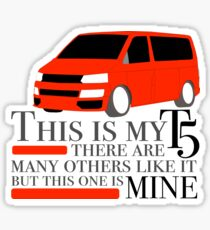 This is my T5 in RED Sticker