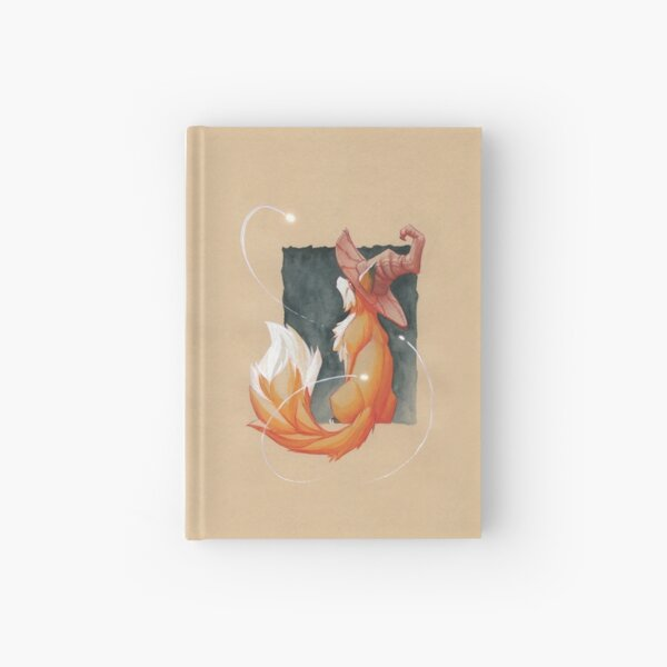 The witch's fox Hardcover Journal