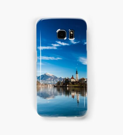 morning at the lake of Bled Samsung Galaxy Case/Skin