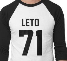 LETO 71 Men's Baseball ¾ T-Shirt