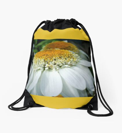 Just One Petal Out Of Place Daisy.... Drawstring Bag