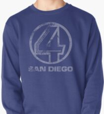 Channel 4 San Diego (Faded & Distressed) Pullover
