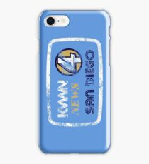 KVWN News 4 San Diego (Distressed) iPhone Case/Skin