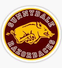 Buffy-Sunnydale  Razorbacks Sticker