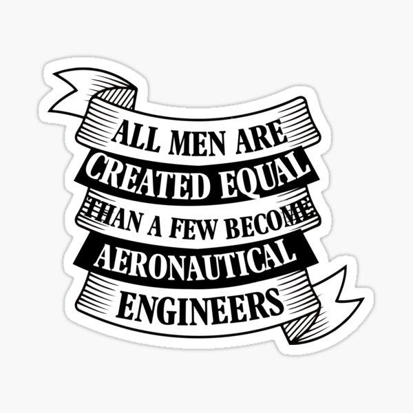 UNDERSTANDING ENGINEERS Sticker