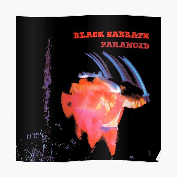 Awesome Black Sabbath Paranoid Poster