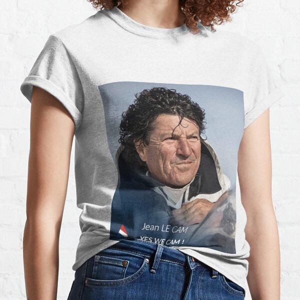 ART TABLEAU PORTRAIT LE CAM VOILIER COURSE BATEAU Classic T-Shirt