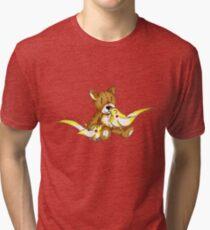 Cockatiel Cuddle Tri-blend T-Shirt
