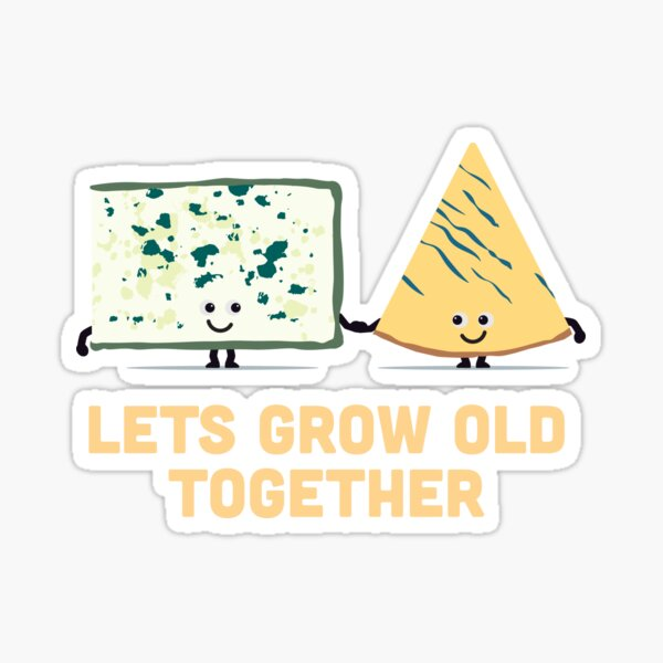 Character Building - Smelly cheese Sticker