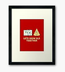 Character Building - Smelly cheese Framed Print