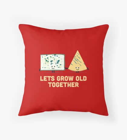 Character Building - Smelly cheese Throw Pillow