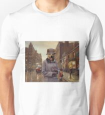 Australian Cattle Dog Art - Charleston Blues Unisex T-Shirt