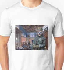 Australian Cattle Dog Art -Company in the interior  Unisex T-Shirt