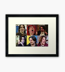Arin Hanson Collage Framed Print