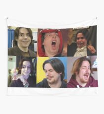 Arin Hanson Collage Wall Tapestry