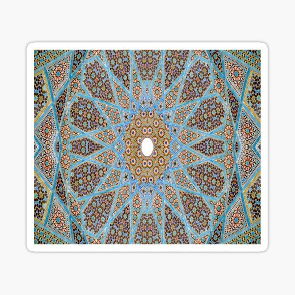Decorative, Pattern, Design, Tracery, Weave Sticker