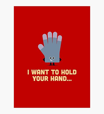 Character Building - Glove Photographic Print
