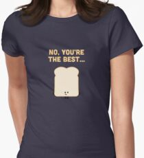Character Building - Sliced Bread Womens Fitted T-Shirt
