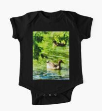 Ducks on a Tranquil Pond Kids Clothes