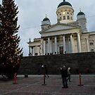 Christmas market in Helsinki by frommyhorizon