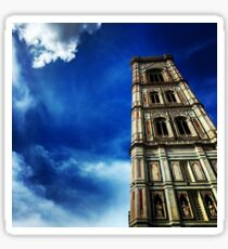 Florences Giotto Tower Sticker