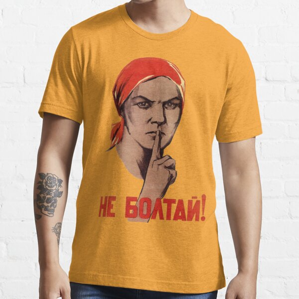 Affiche de trahison soviétique T-shirt essentiel