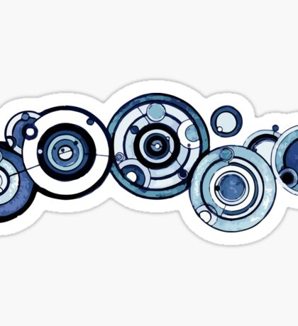 Doctor Who - The Doctor's name in Gallifreyan #4 Sticker