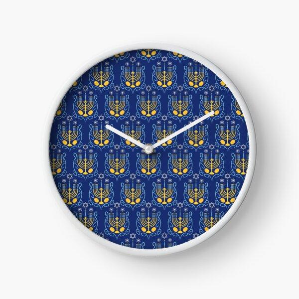 Happy Hanukkah Clock
