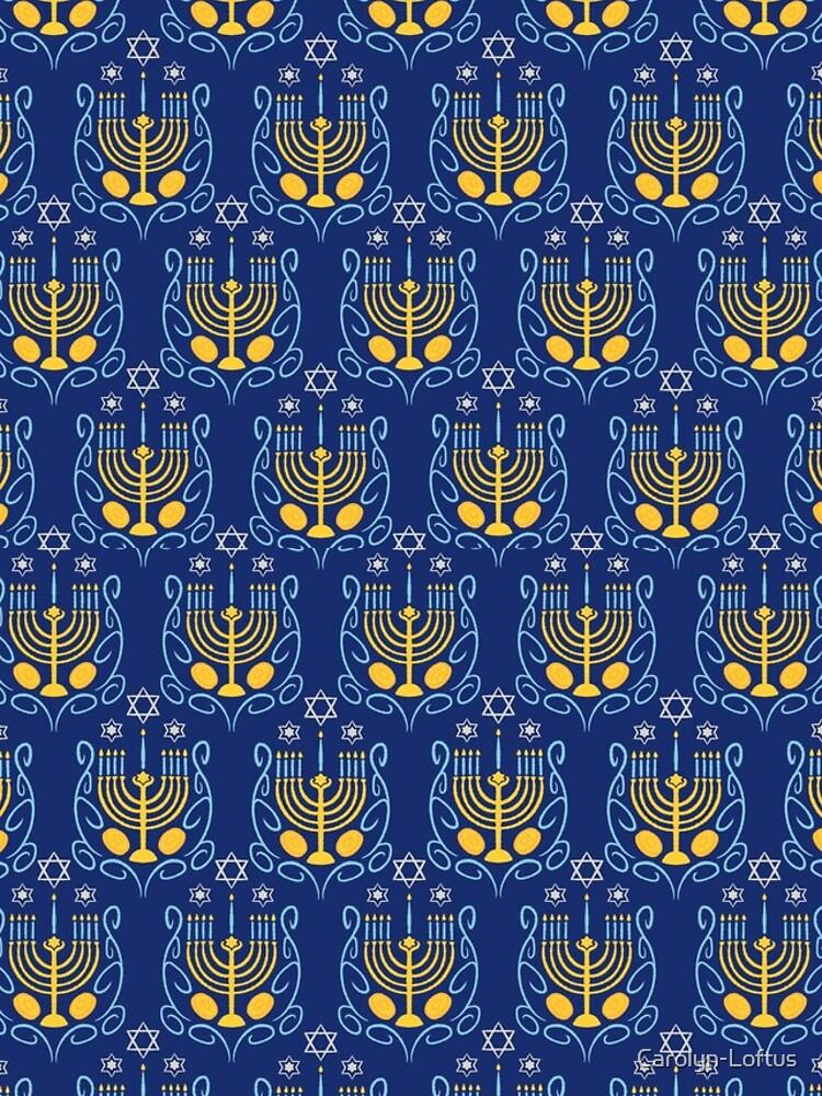 Happy Hanukkah by Carolyn-Loftus