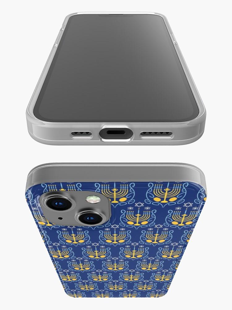 Alternate view of Happy Hanukkah iPhone Case