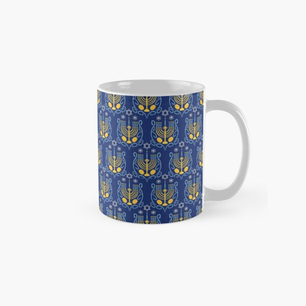 Happy Hanukkah Classic Mug