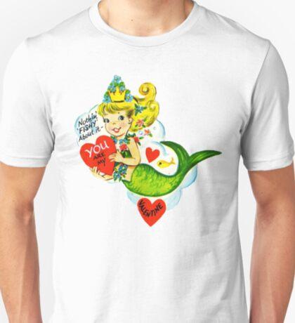 Vintage Valentine Mermaid T-Shirt