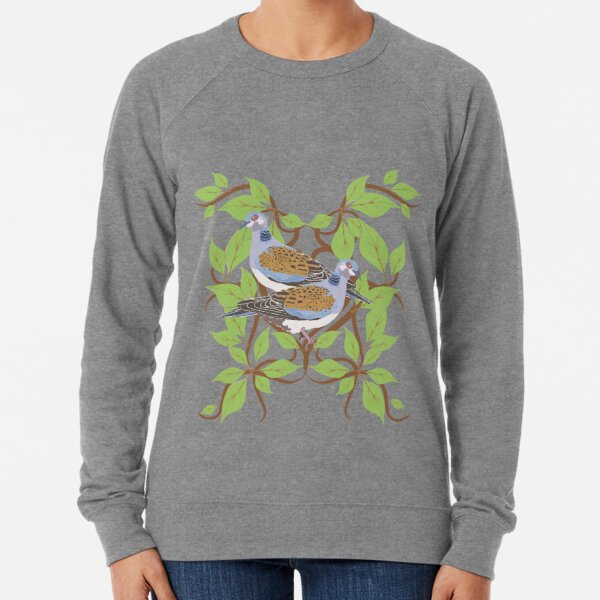 12 Days of Christmas: Two Turtle Doves Lightweight Sweatshirt