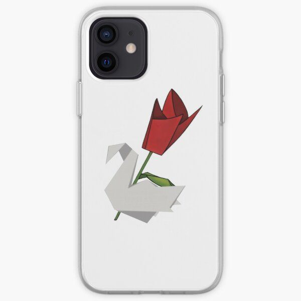 Prison break rose et grue Coque souple iPhone