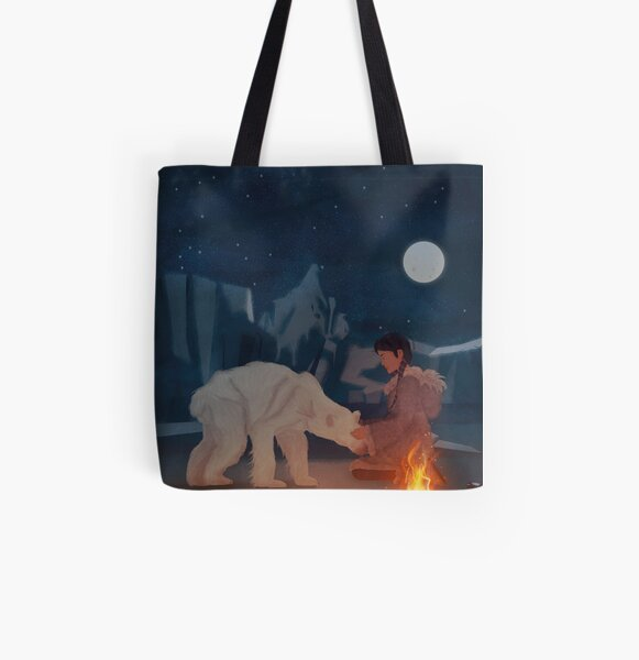 Protecting the environment - Glacier All Over Print Tote Bag
