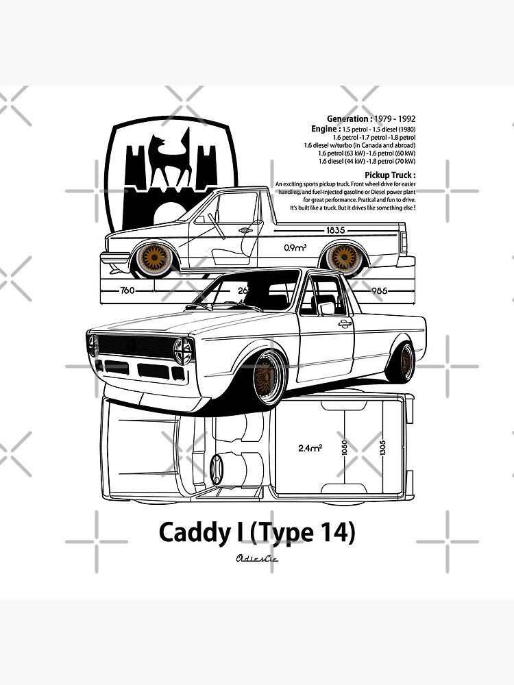 one CADDY low by oldiescie