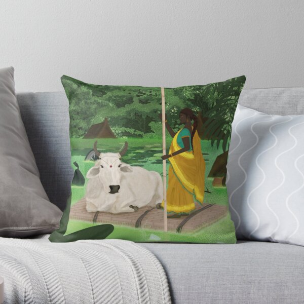 Protecting the environment - Forest Throw Pillow